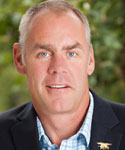 Portrait of Ryan Zinke